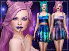 Galaxy Set at Trillyke • Sims 4 Updates