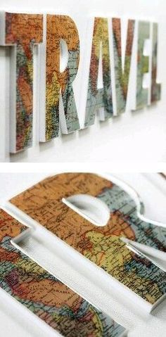 Letras mapa
