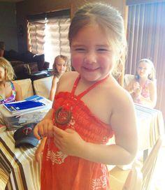 Sophie turns 4