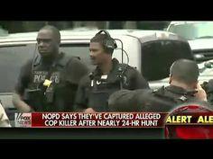 ▶ New Orleans Police: Alleged Cop Killer Captured - YouTube