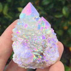 """cosmicdreamclub: """"Moonbeam aura fairy quartz ✨☄ """""""