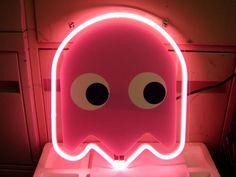 Pacman Pink Ghost Vi