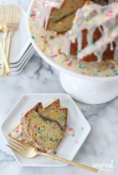 Funfetti Coffee Cake