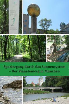 Spaziergang durch das Sonnensystem – Der Planetenweg in München - ideas4parents.com