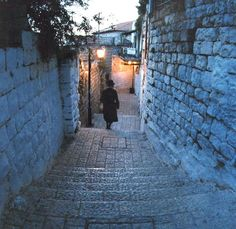 Safed, Israel - where the kaballah was studied by ancient, mystical rabbis in the 1500's