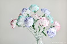 Diy Tissue (Kleenex) Flowers