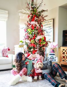 Holiday Pajamas For The Whole Family 624de6a51