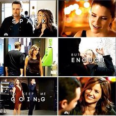 "I totally love this song and this couple so it's perfect(: ""It's just a spark but it's enough to keep me going"" Linstead"