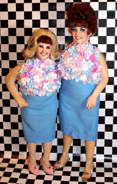 Divine as Edna Turnblad & Ricki Lake as Tracy Turnblad handmade dolls