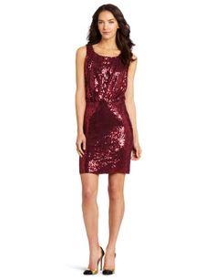 Velvet Women's Sareen Sequin Blouson Tank Dress « Clothing Impulse