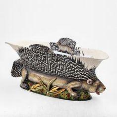 Ardmore porcupine bowl