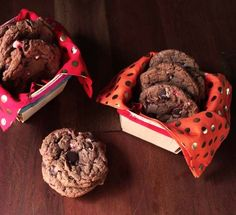 Oh Joy | Chocolate Chip Nutella Candy Cane Cookies #cookie