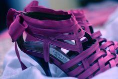 violet shoes <3