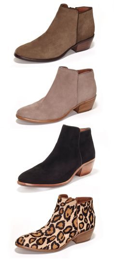 Oh just stop it Sam. Really, this is too much. I don't NEED anymore beautiful suede ankle boots from you and yet I can't help myself. The la...