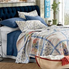 Maritime Oversized Quilt And Sham | Country Door