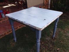 Normal pine table! Shabby chick
