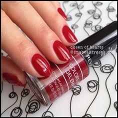 revlon queen of hearts. Lovely dark red!