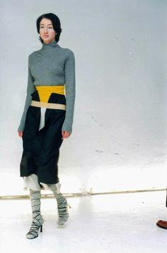 Lutz Huelle Fall/Winter 2000 'The Debut' Photo : Wolfgang Tillmans