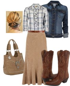 """Western"" by daisyhedo on Polyvore"