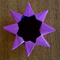I suppose it isn't exactly the right time of year for stars and lanterns, but I've got a paper folding fascination at the moment and so w...