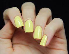 A Twist of Lemon - Yellow Creme Nail Polish Short Bobs, Lemon Yellow, Nail Polish, My Favorite Things, Nails, Unique Jewelry, Handmade Gifts, Etsy, Beauty
