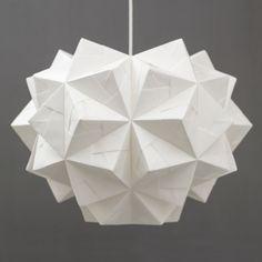 Origami Lampshade - Chloe Pendant