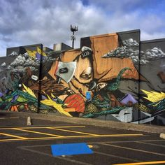 Street art | Mural (Portland, Oregon, USA) by Mr. Never Satisfied