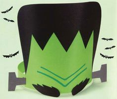Make your own monster mask From Usborne Spooky Things to Make and Do