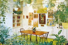 From 'A House and Garden Book: Decorating with Plants'by Marybeth Little Weston, 1978.