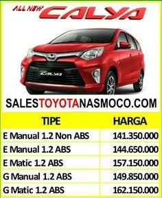 Harga Toyota Calya di Semarang Maret 2018 Untuk informasi yang lebih detail mengenaiHarga Toyota Calya di SemarangMaret 2018, silakan hubungi:  Mas Donny  Senior Sales DealerToyota Semarang  Hp / WA: 081-227-069-186