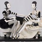 Tamara Pivnyuk Art Dolls / Dolls / 2 podrugi