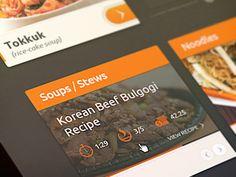 Dribbble - Food Site by Kreativa Studio