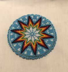Light Blue Single Medallion