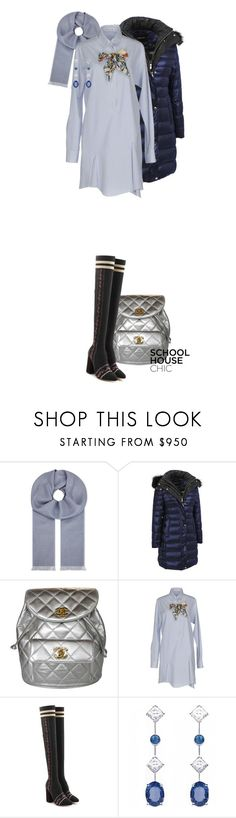 """""""210"""" by whereitleads ❤ liked on Polyvore featuring Brunello Cucinelli, Andrew Marc, Chanel, Christian Dior, Tabitha Simmons and Chaumet"""