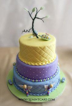 Snug as a bug cake by quaintcake, via Flickr