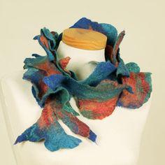 Vilt en Zijdekunst / Zijden Shawls