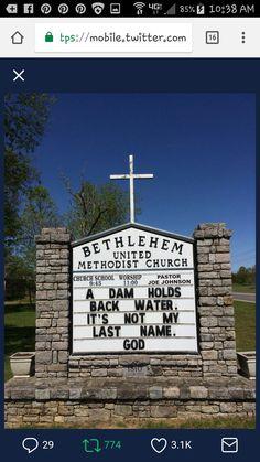 Church Sign Sayings, Funny Church Signs, Church Humor, Church Quotes, Funny Signs, Christian Humor, Christian Quotes, Religious Quotes, Spiritual Quotes