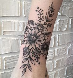 They dominate the scene tattoo and we are only love with these inspirations 75 of floral tattoos for you. Half Sleeve Tattoos Forearm, Outer Forearm Tattoo, Foot Tattoos, Body Art Tattoos, Tatoos, Inner Wrist Tattoos, Anklet Tattoos, Ink Tattoos, Tattoo Drawings
