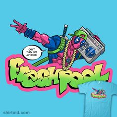 Fresh Pool #boombox #comic #comics #deadpool #diegopedauye #film #marvelcomics #movie #thefreshprinceofbelair #tvshow