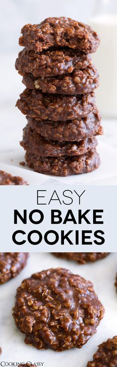No Bake Cookies - Cooking Classy