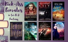 Kick-Ass Females in Sci-Fi & Fantasy Books Giveaway