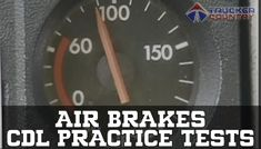 Retake tests as needed. Pass the official state CDL Air Brakes Exam! Cdl Test, Air Brake, Country, Free, Rural Area, Country Music