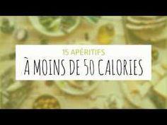 15 apéritifs à moins de 50 calories !
