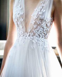 Francesca Miranda Butterflies wedding dress