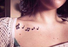 Music Tattoo / wow ! love it