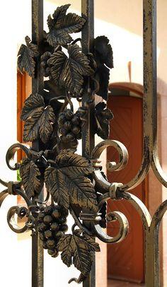 Gate detail in Eguisheim