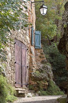 Built into The Rock, Tourtour, Provence-Alpes-Cote d'Azur