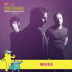 Muse are playing Osheaga Festival in 2017