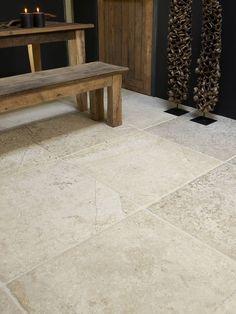 #Bourgondische dallen van Frans kalksteen - Natuursteen - Opkamer dallen - Bourgondische dallen ideeën | de-opkamer.nl