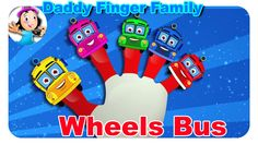 Finger Family Nursery Rhymes | Wheels On The Bus Daddy Finger Family By ...